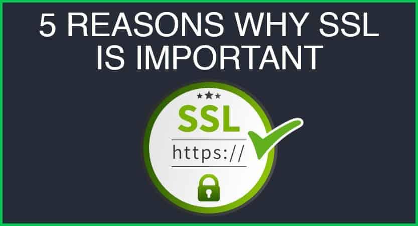 5 Reasons Ssl Blog Cover
