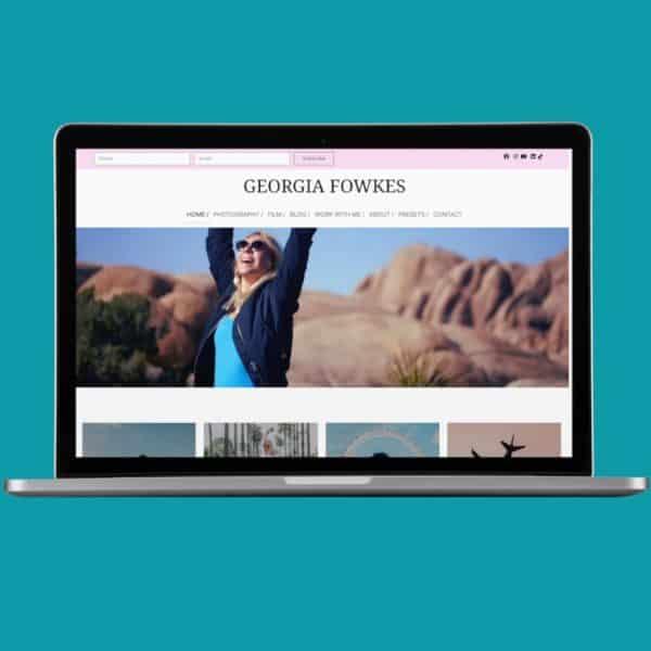 Georgia Fowkes Home Page