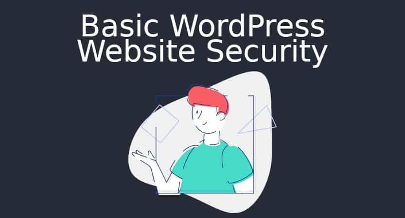 Basic Wordpress Security