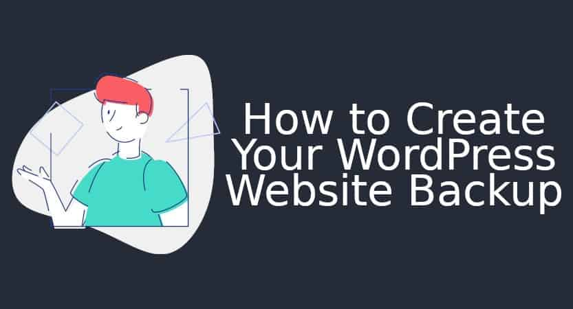 How to create your WordPress Website Backup