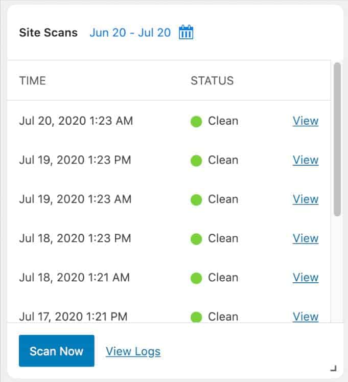 iThemes Site Security Scan