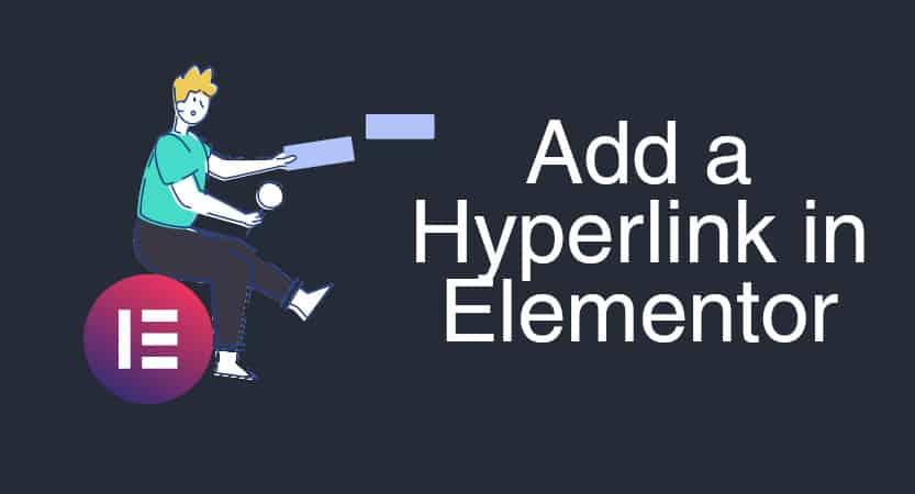 Add A Hyperlink In Elementor Cover