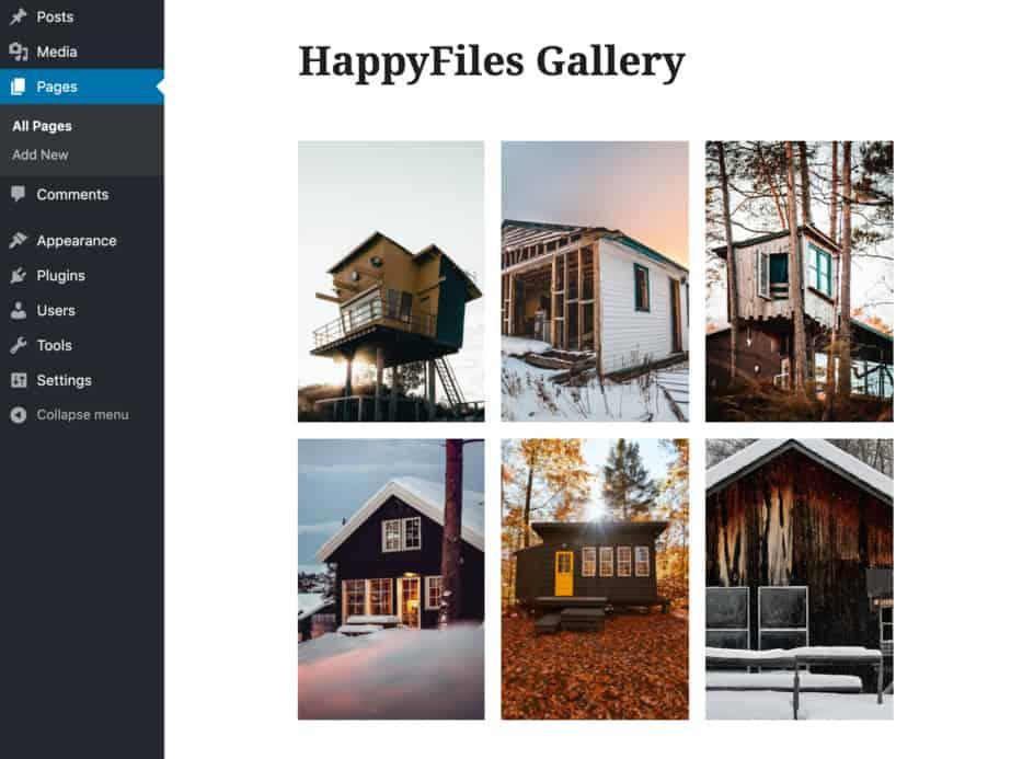 Create Galleries From Folders