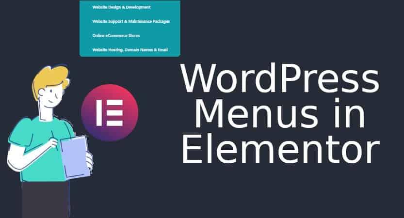 Menus is Elementor Blog Cover