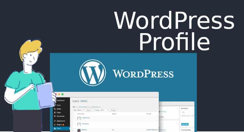 WordPress Profile Blog Cover