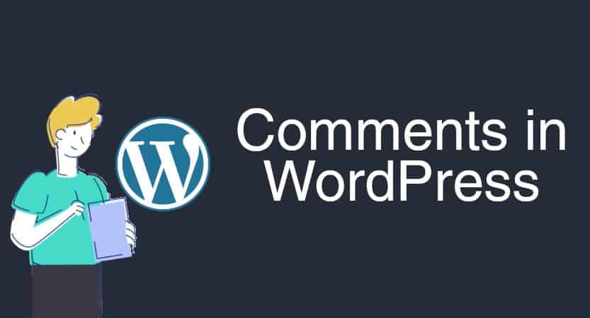 Comments In Wordpress Blog Post Cover